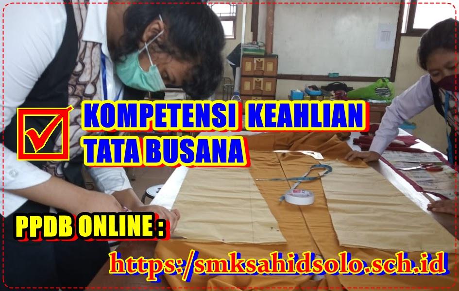 Kompetensi Keahlian Tata Busana